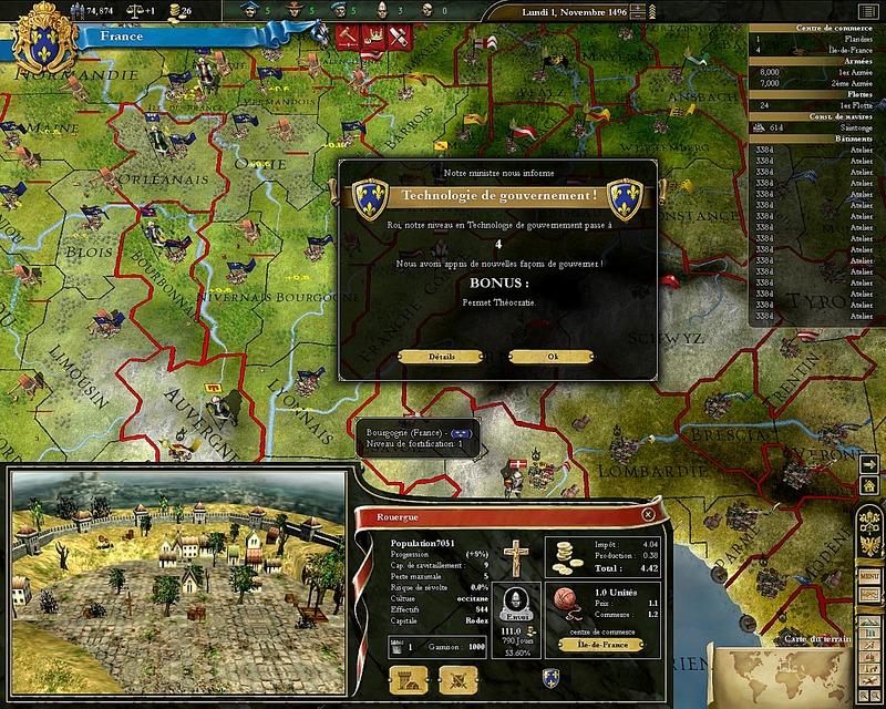 EuropaUniversalisIII PC Editeur 003