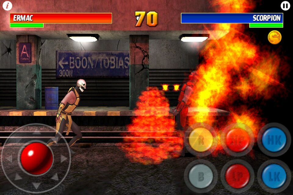 UltimateMortalKombat3 iPhone Editeur 005