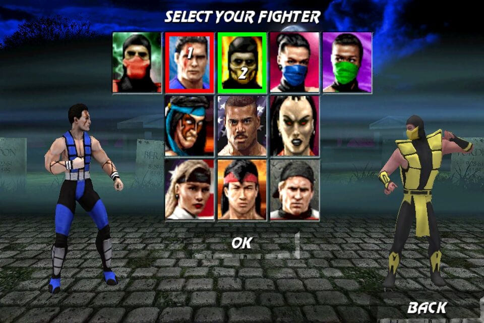 UltimateMortalKombat3 iPhone Editeur 007