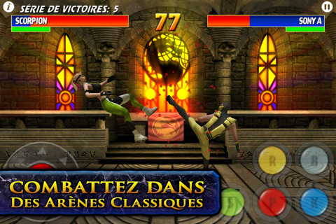 UltimateMortalKombat3 iPhone Editeur 012