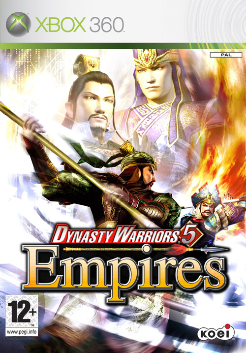 DynastyWarriors5 X360 Jaquette 001