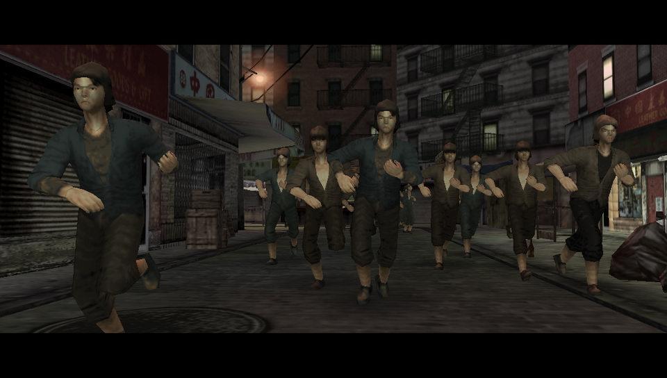 The Warriors PSP Editeur 014