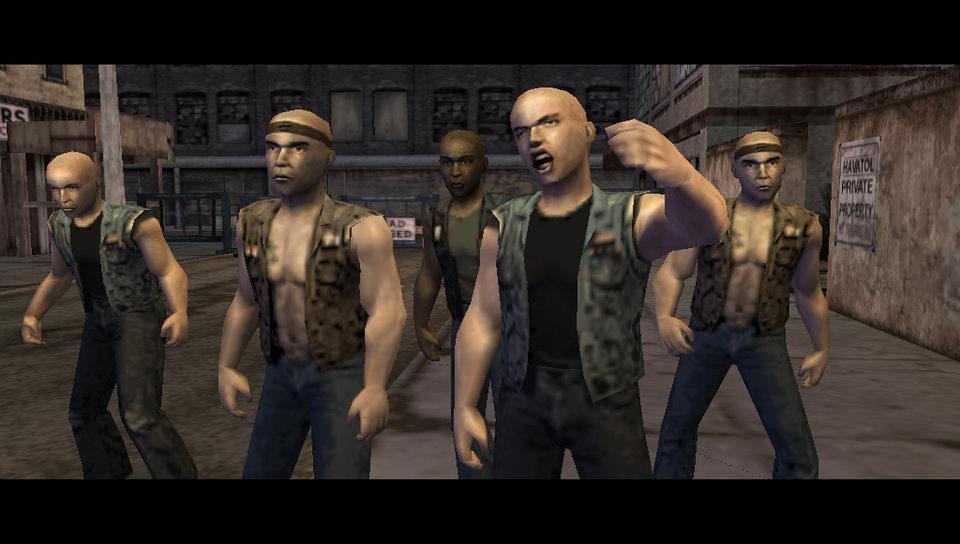 The Warriors PSP Editeur 016