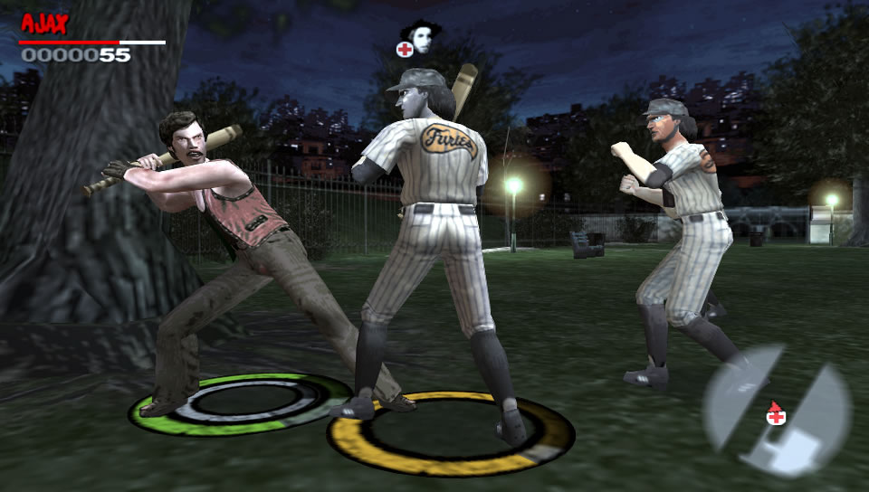 The Warriors PSP Editeur 022