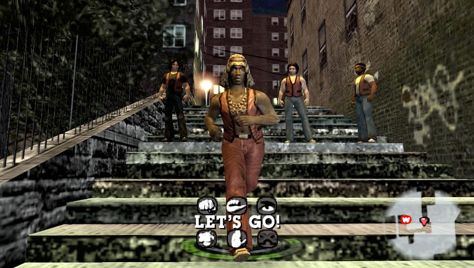 The Warriors PSP Editeur 024