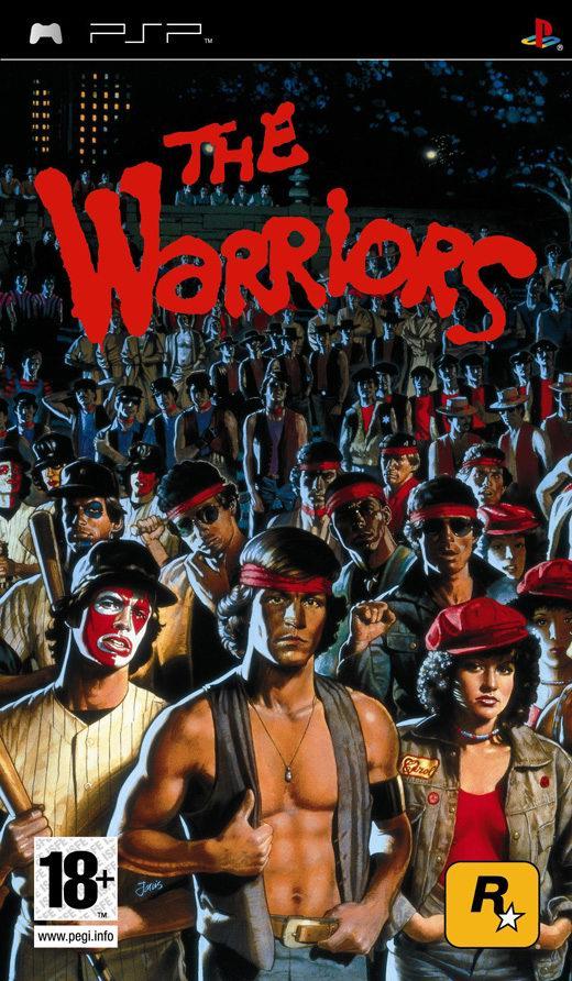 The Warriors PSP Jaquette