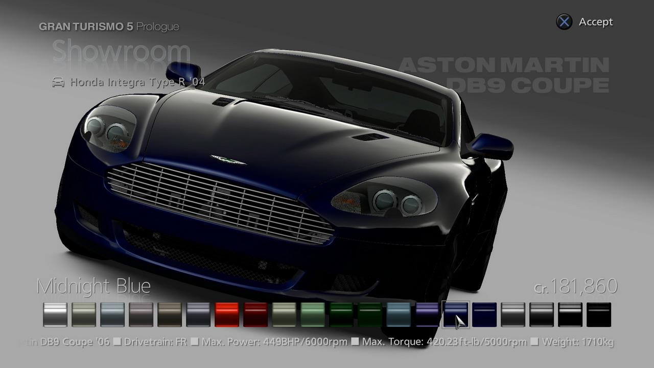 GT5 Prologue PS3 Editeur 275