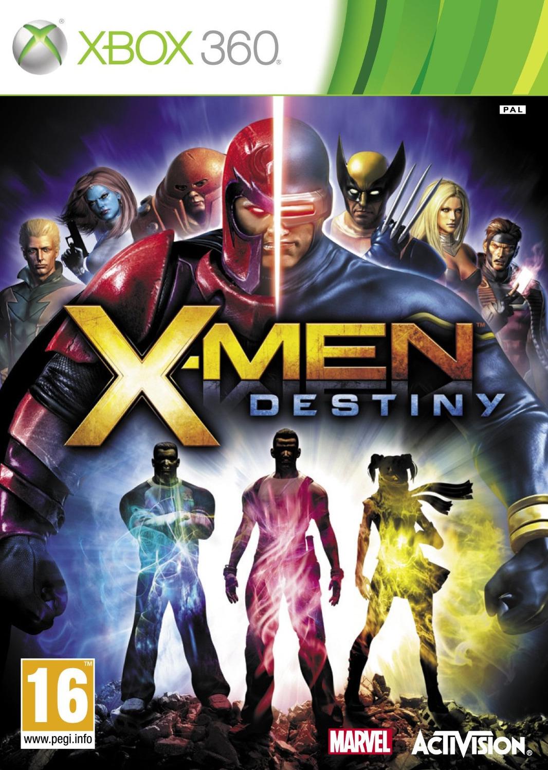 X-Men-Destiny 360 Jaquette 001