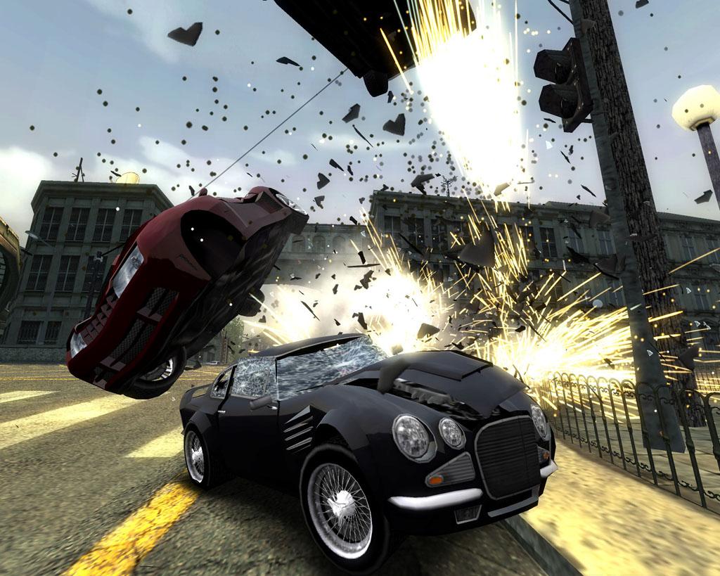 Burnoutdomin PS2 editeur 007