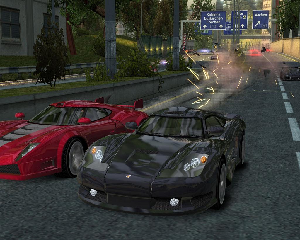 Burnoutdomin PS2 editeur 011