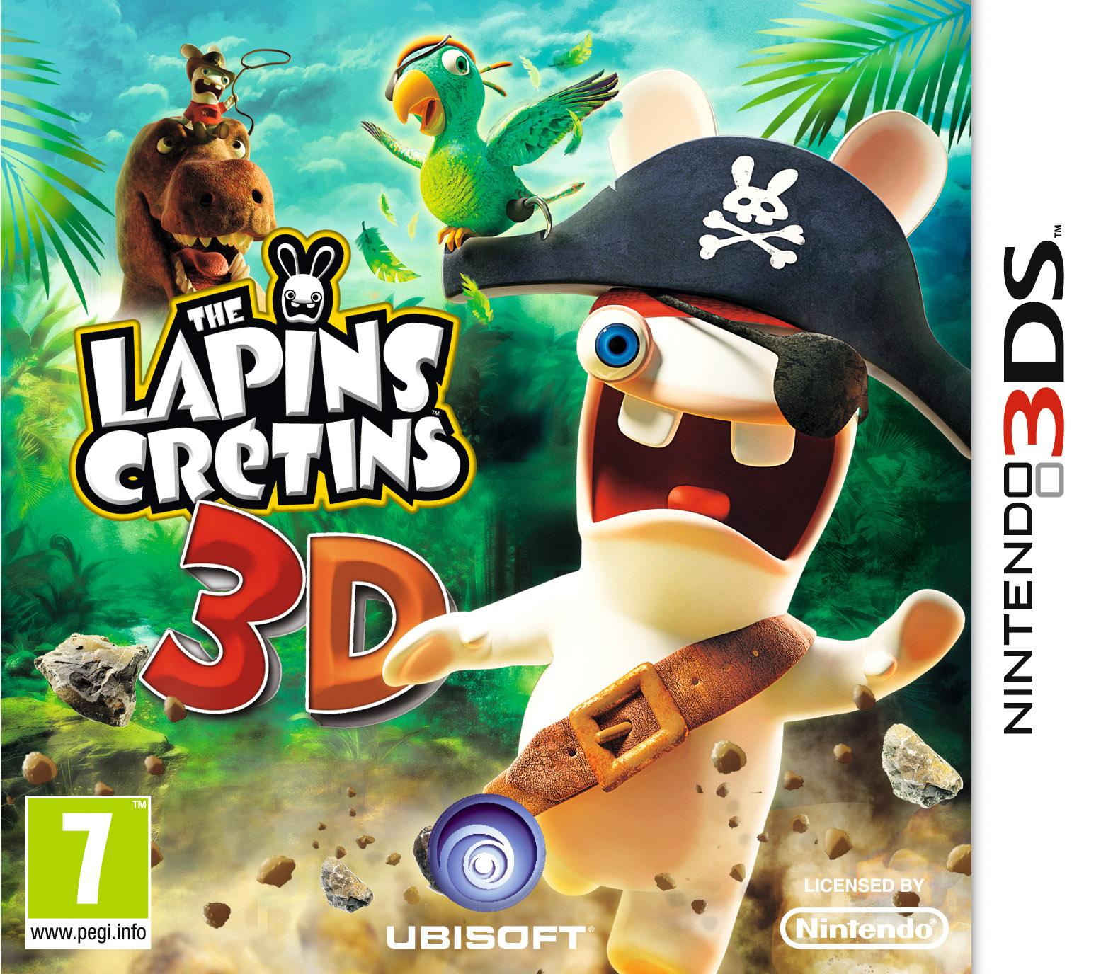 TheLapinsCretins3D 3DS Jaquette 001