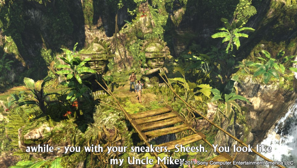 Uncharted-GoldenAbyss PS Vita Test 017
