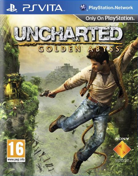 Uncharted-GoldenAbyss PS Vita Jaquette 002