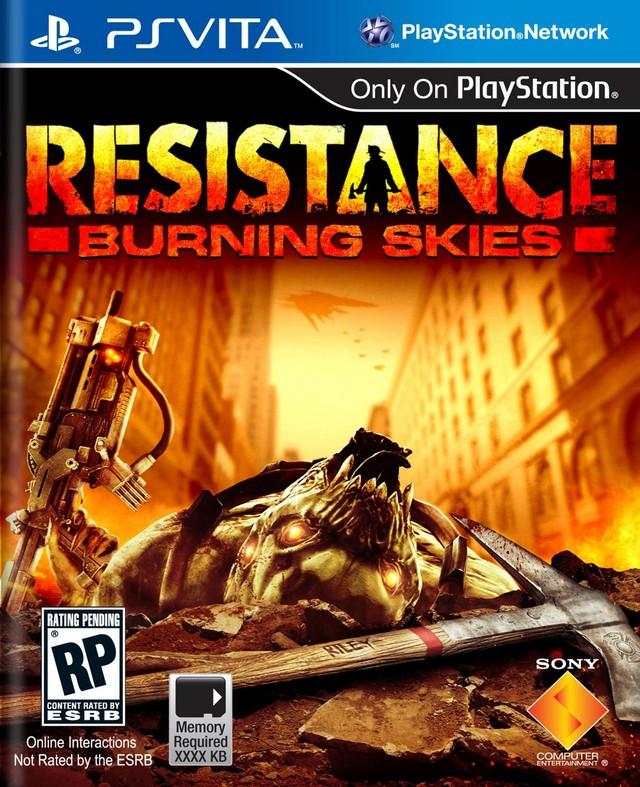 Resistance-BurningSkies PS Vita Jaquette 001