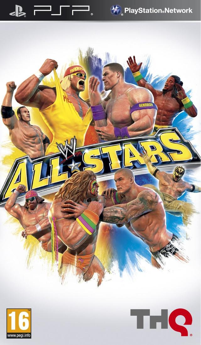 WWEAllStars PSP Jaquette 002
