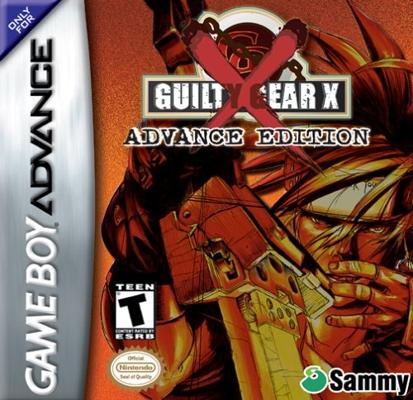 GuiltyGearX GBA Jaquette 001
