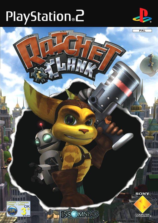 Ratchet-Clank PS2 Jaquette 001