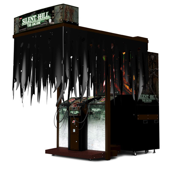 SilentHill-TheArcade Arcade Jaquette 002
