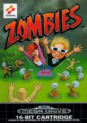 Zombies Megadrive Jaquette 001