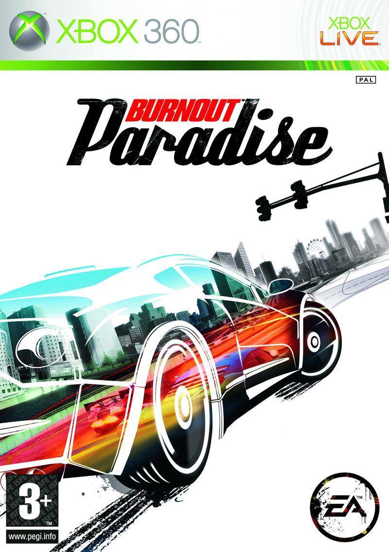 BurnoutParadise X360 Jaquette