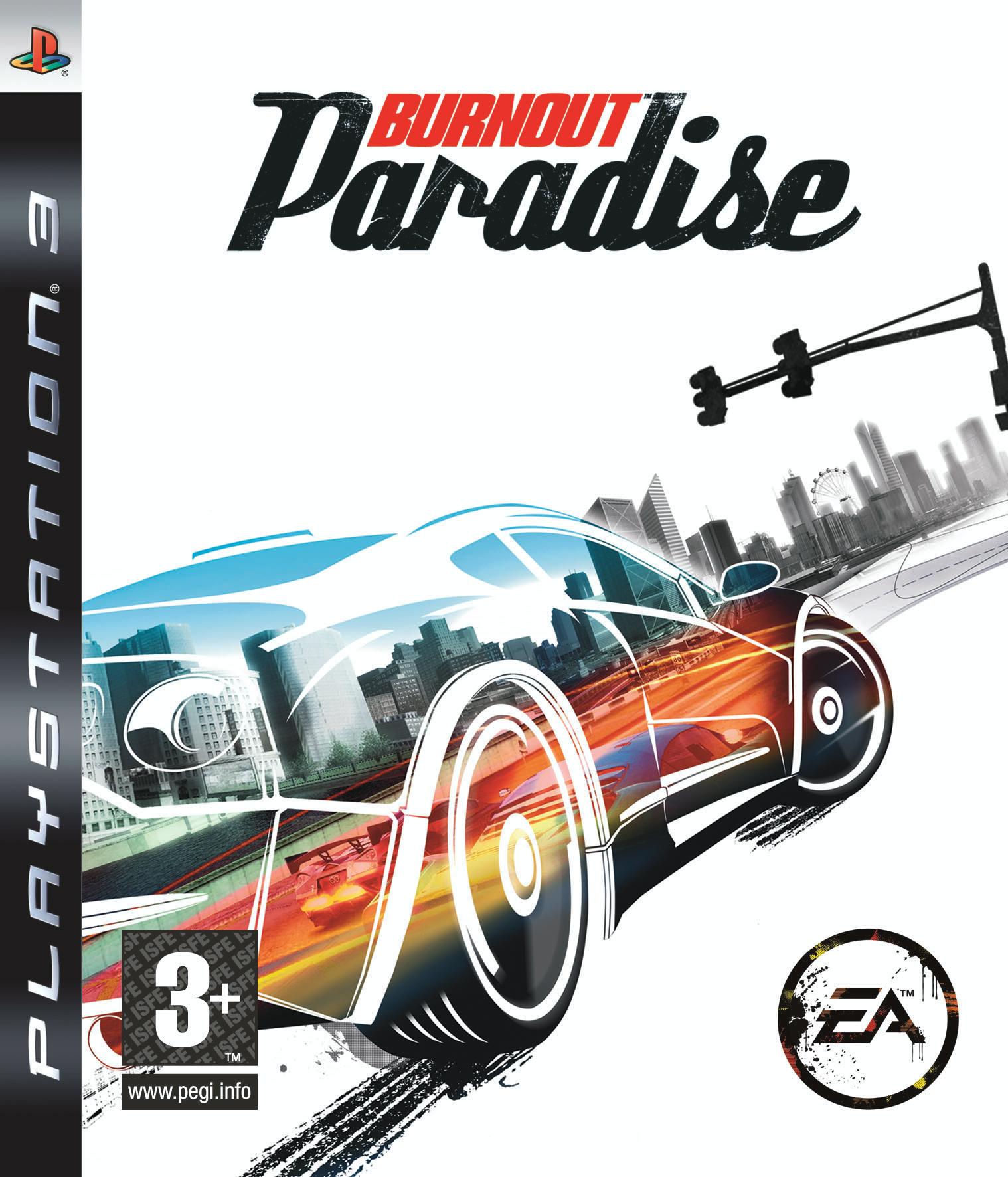 BurnoutParadise PS3 Jaquette