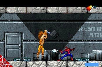 Spider-Man GBA Editeur 003