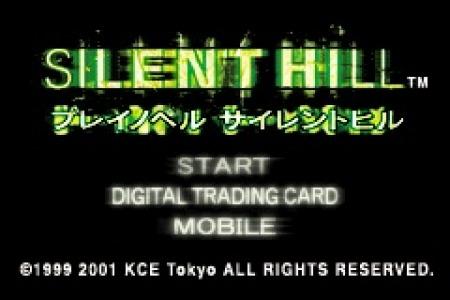 SilentHill-PlayNovel GBA Editeur 001