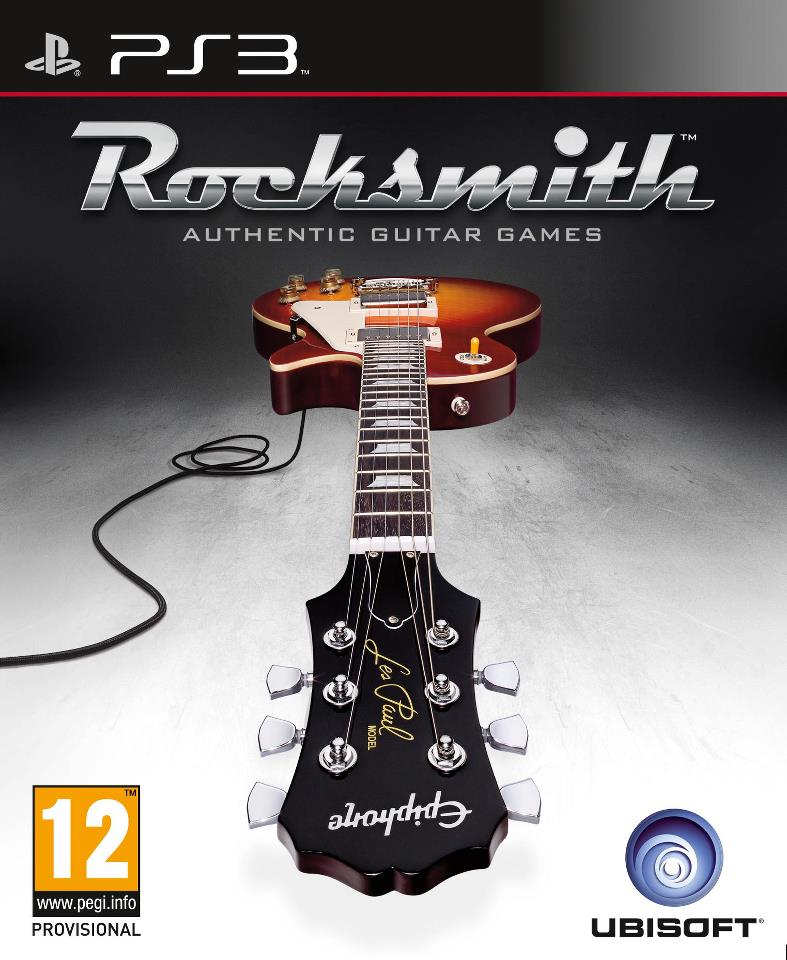 Rocksmith PS3 Jaquette 001