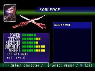 SoulBlade PS Editeur 013