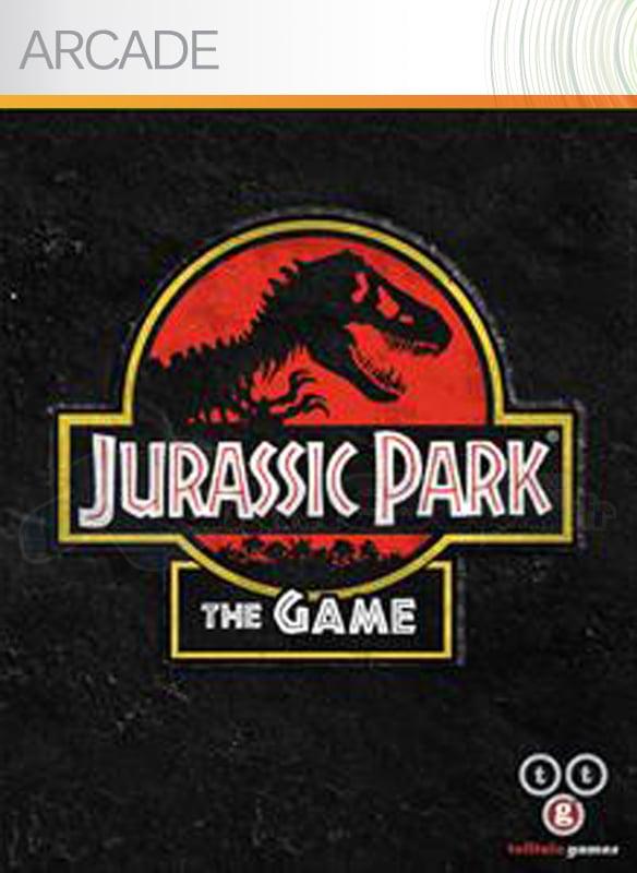 JurassicPark-TheGame XBLA Jaquette 001
