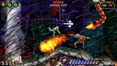 UltimateGhosts'nGoblins PSP Editeur 008