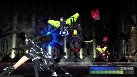 BlackRockShooter-TheGame PSP Editeur 005