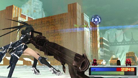 BlackRockShooter-TheGame PSP Editeur 006
