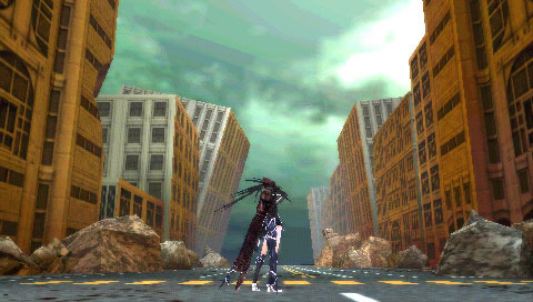 BlackRockShooter-TheGame PSP Editeur 009