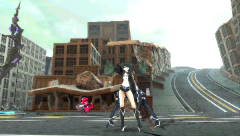 BlackRockShooter-TheGame PSP Editeur 010