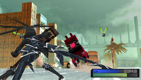 BlackRockShooter-TheGame PSP Editeur 015