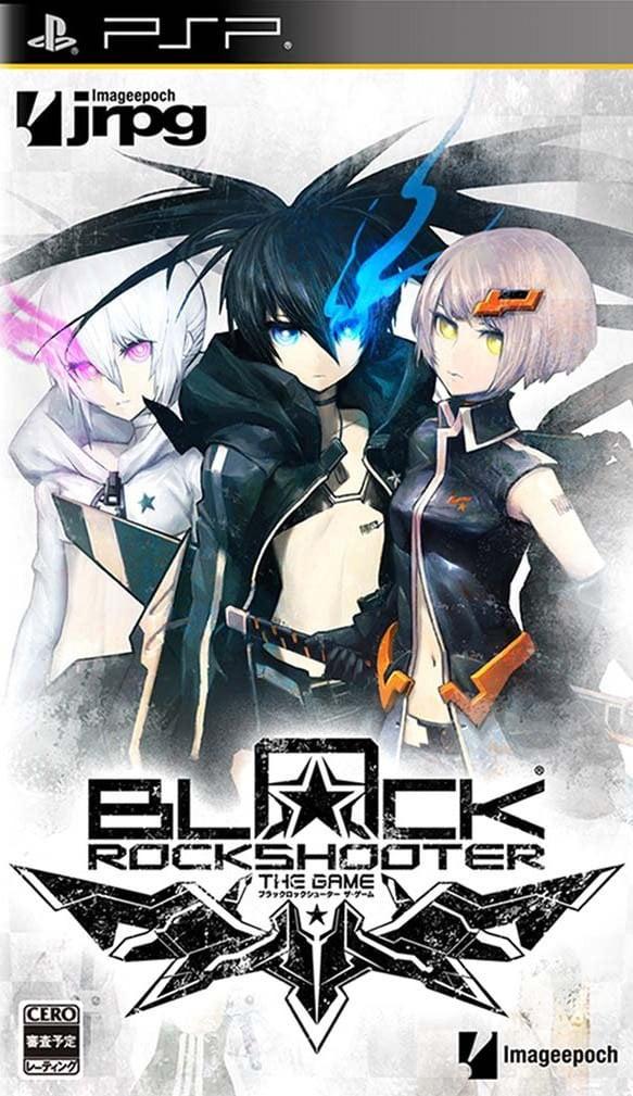 BlackRockShooter-TheGame PSP Jaquette 001