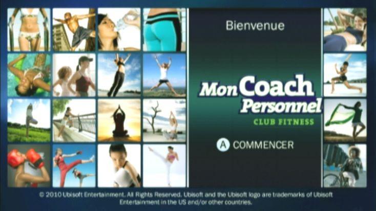 MonCoachPersonnel-ClubFitness Wii Editeur 008