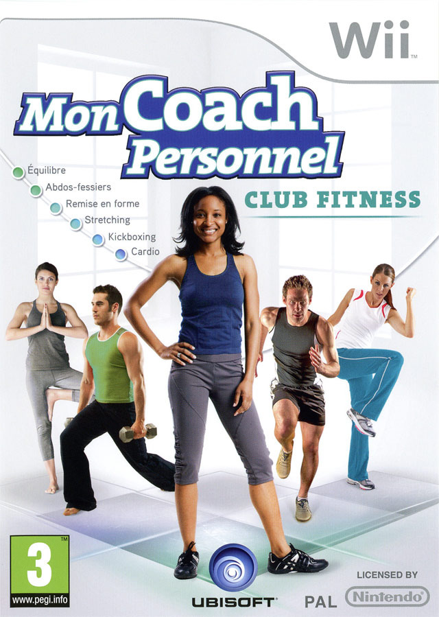 MonCoachPersonnel-ClubFitness Wii Jaquette 001