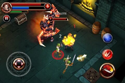 DungeonHunter iPhone Editeur 035