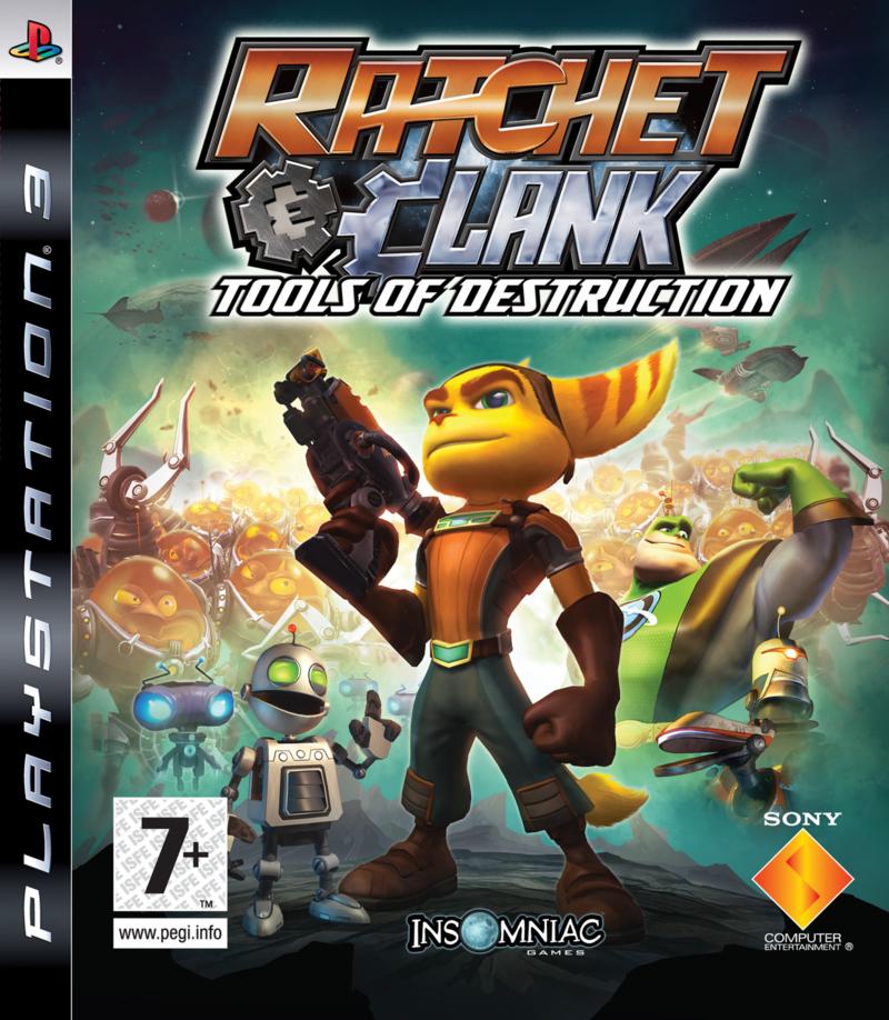 Ratchet&Clank PS3 Jaquette 001