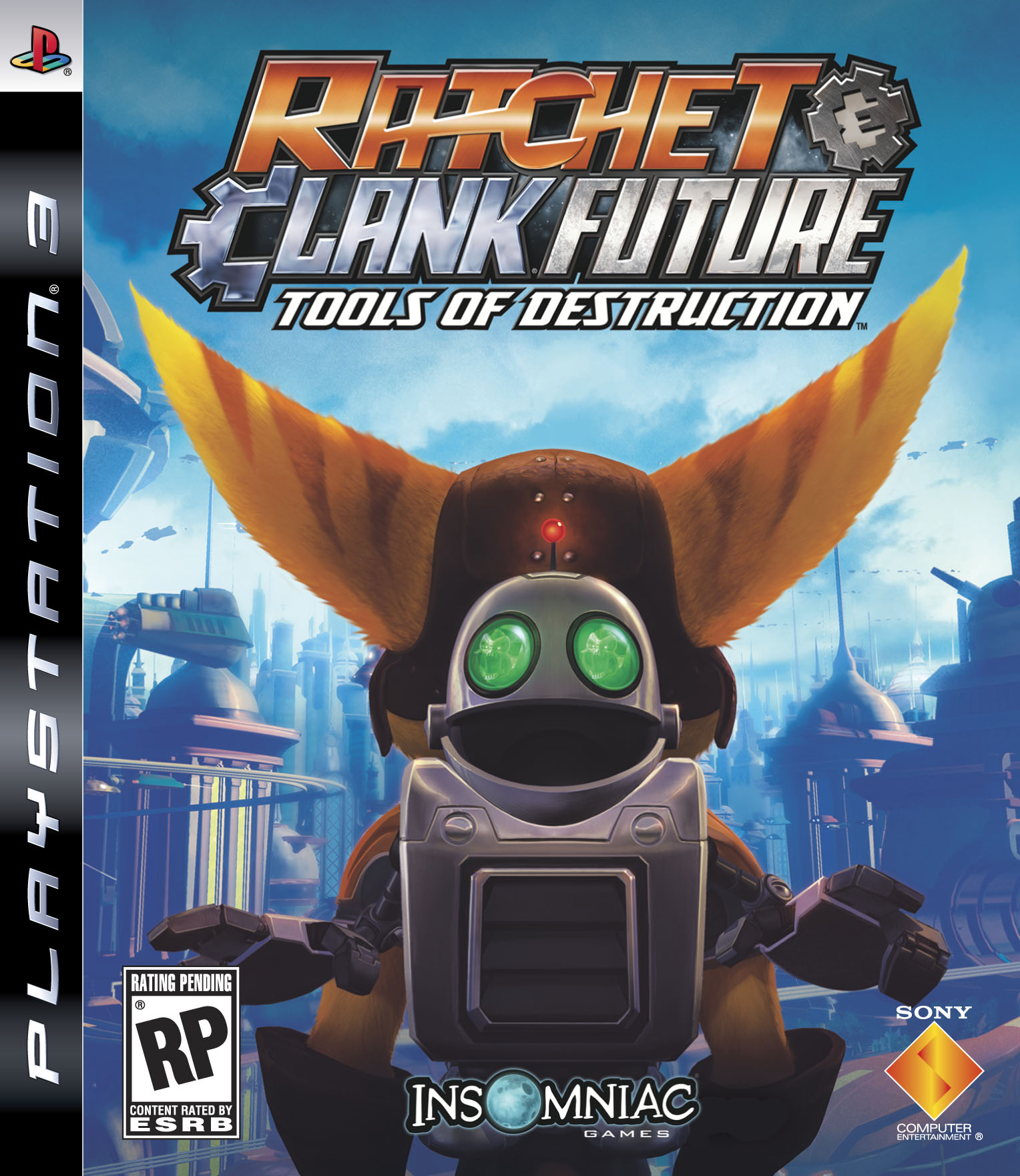 Ratchet&Clank Tools PS3 Jaquette