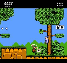 Asterix NES Editeur 006