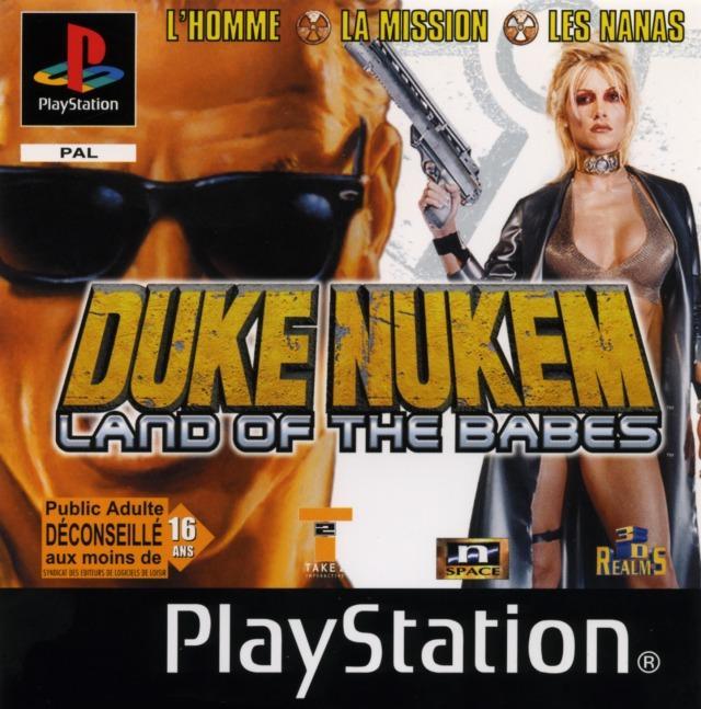 DukeNukem-LandoftheBabes PS Jaquette 001
