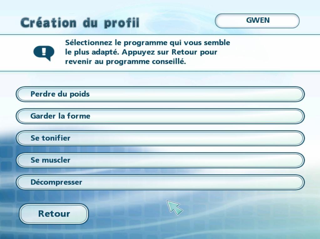 MyBodyCoach Wii Editeur 009