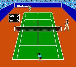 Tennis NES Editeur 001