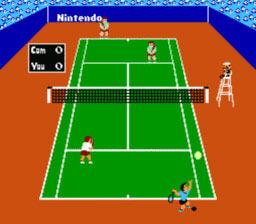 Tennis NES Editeur 002