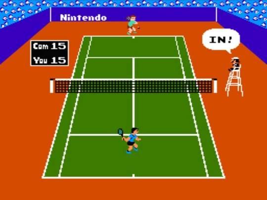 Tennis NES Editeur 005