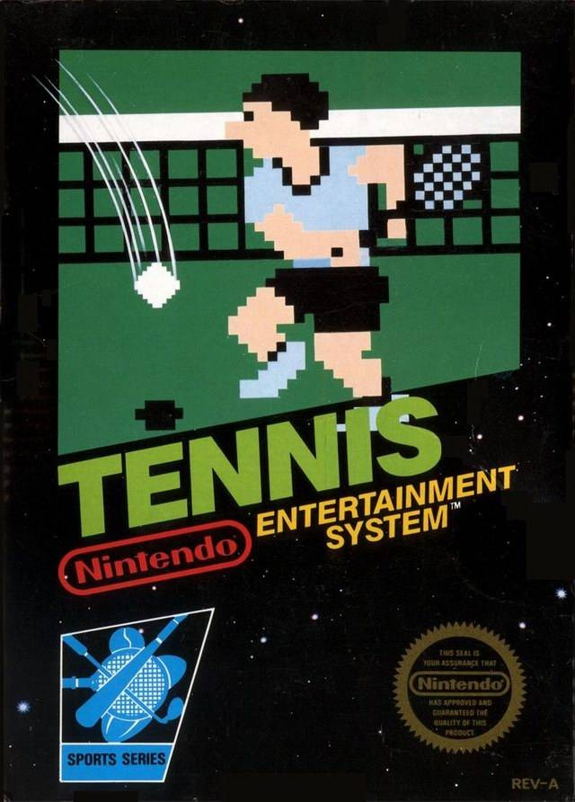 Tennis NES Jaquette 001