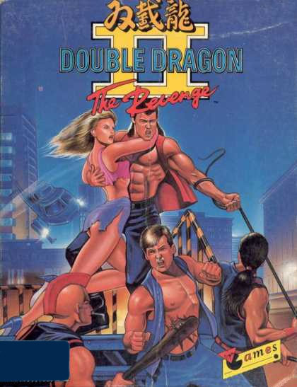 DoubleDragonII-TheRevenge AtariST Jaquette 001